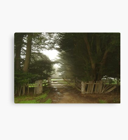 Farm Entrance Canvas Print