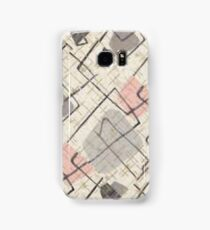 pastel abstract shape pattern  Samsung Galaxy Case/Skin