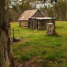 Davies High Plains Hut Hugh Country by Joe Mortelliti