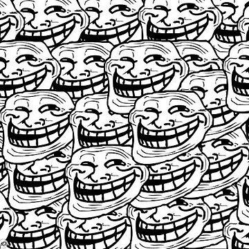 Troll face pattern by Destructor1123