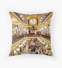 Queen Victoria Building Throw Pillow