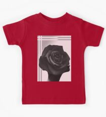 Bold Black beautyRose Kids Tee
