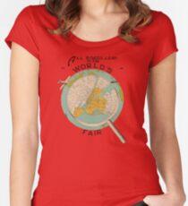 World's Fair Women's Fitted Scoop T-Shirt