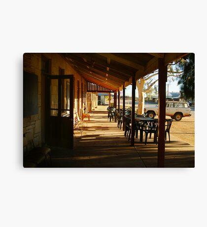 Pub, Outback Tibooburra,N.S.W.  Canvas Print