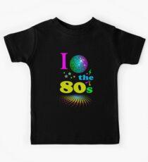 I Love The 80's eighties Kids Tee