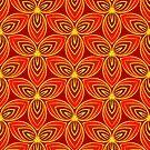 Scarlet Red Trefoil by Rasendyll