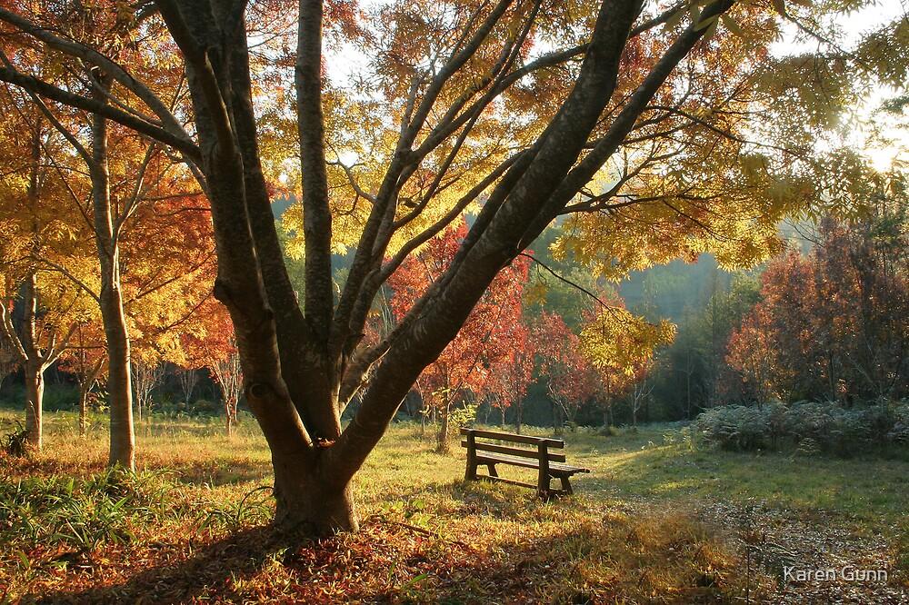 Autumns Invitation  by Karen Gunn