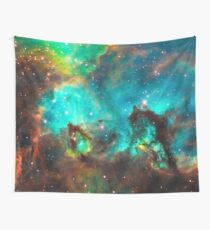 Galaxy / Seahorse / Large Magellanic Cloud / Tarantula Nebula Wall Tapestry