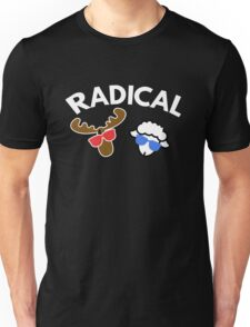 Radical  Moose Lamb T Shirt Unisex T-Shirt