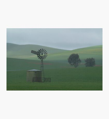 Misty Rain Southern Flinders Ranges Photographic Print