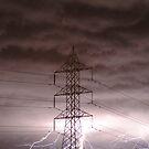 Lightning Storm,Grovedale Geelong by Joe Mortelliti