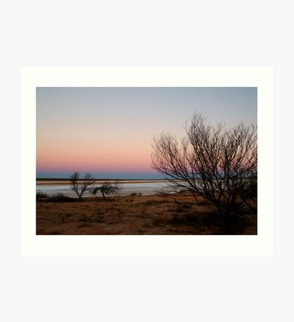 Salt Pan, Simpson Desert, S.A. Art Print