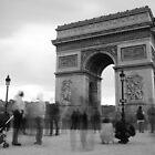 Monument time - Arc de Triomphe  by Norman Repacholi