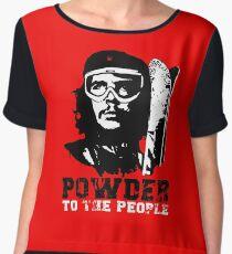 Powder to The People Women's Chiffon Top