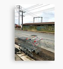 Road train Canvas Print