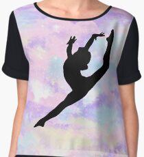 Gymnastics Leap Chiffon Top