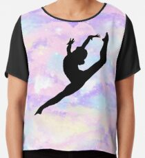 Gymnastics Leap Chiffon Top