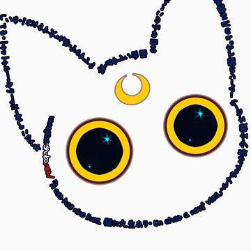 GiZa★ShoKo - Luna, legendary cat from Moon by KasumiYawa