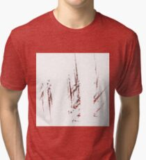 Traces and spaces Tri-blend T-Shirt