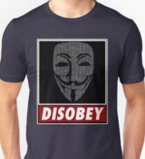 Binairy Vendetta: Disobey T-Shirt