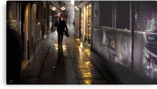 Venice Rain by Paul Vanzella