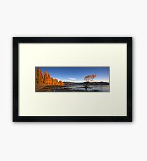 Lake Wanaka Framed Print