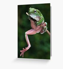Nude Model Greeting Card