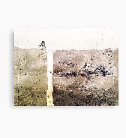 Hit rock bottom Canvas Print