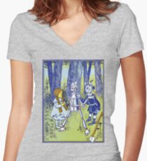 Wizard of Oz by L Frank Baum Women's Fitted V-Neck T-Shirt