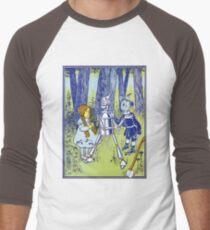Wizard of Oz by L Frank Baum Men's Baseball ¾ T-Shirt
