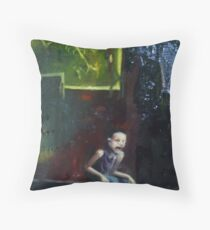 The Atrocities of School I Can't Forget. Throw Pillow