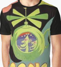 Gong ,Flying Teapot Graphic T-Shirt