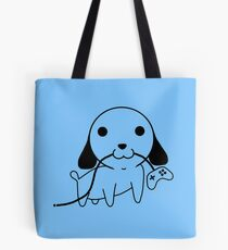 Gamepad Puppy Tote Bag