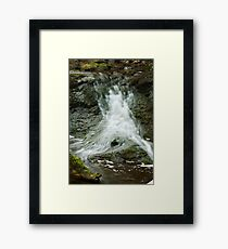 SPLASH OF WATER Framed Print