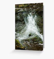 SPLASH OF WATER Greeting Card