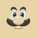 Luigi face by gingerraccoon