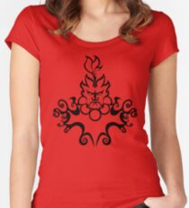 The Floating Demon Women's Fitted Scoop T-Shirt