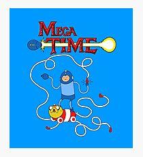 MEGA TIME! Photographic Print