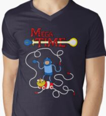 MEGA TIME! Men's V-Neck T-Shirt