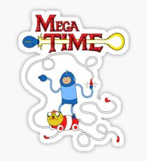 MEGA TIME! Sticker