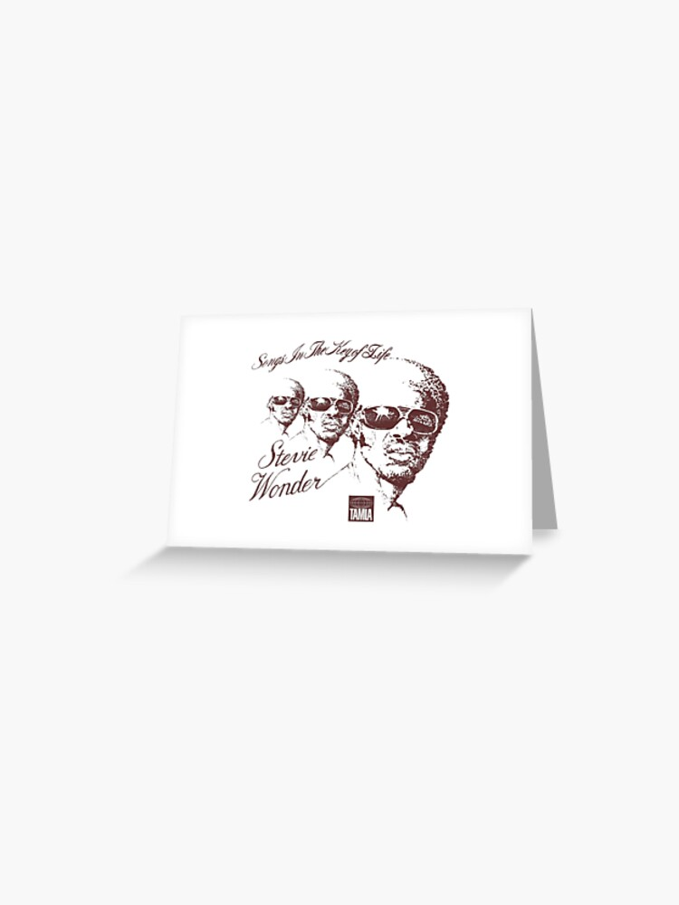 Stevie Wonder - Songs In The Key Of Life #2 | Greeting Card