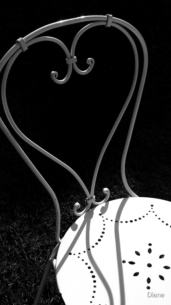 Love Chair by Diane