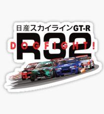 Nissan Skyline R32 DOGFIGHT Sticker