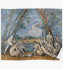 Camille Pissarro - Large Bathers, 1906 Poster