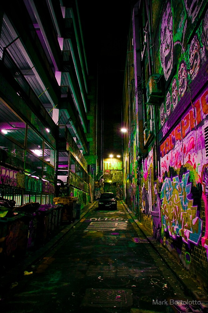 Hosier Lane by Mark Bortolotto