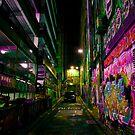 Hosier Lane by Mark Bortolotto