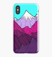 The Purple Mounts iPhone Case/Skin