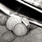 Threepence by Ellesscee