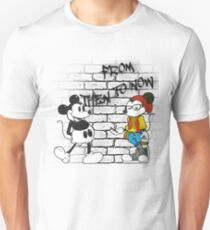 From Then To Now feat. Micky Mouse Unisex T-Shirt
