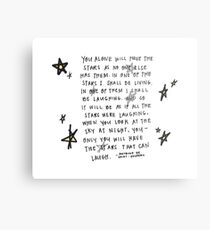 Living in the Stars Metal Print